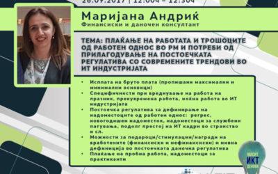 MASIT ICT DAYS Skopje, Macedonia 26-27 September 2017